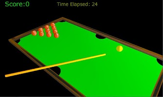 Screenshot of 3D Blast Billiards