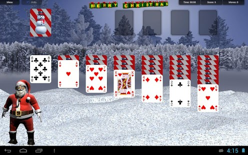 CHRISTMAS SOLITAIRE CARDS - screenshot