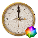 The old one Clock Widget icon