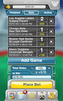 Screenshot of Sportsbook Game - Bookie