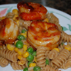 Stir-Fry Shrimp With Spicy Orange Sauce