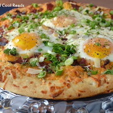 Bacon & Asparagus Breakfast Pizza