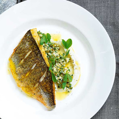 Pan-Fried Fish with Cauliflower