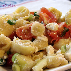 Tortellini Salad with Veggies