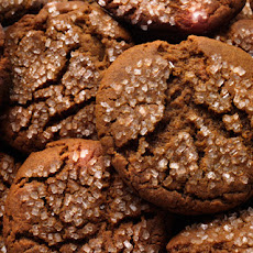 Molasses Crinkle Cookies Recipe