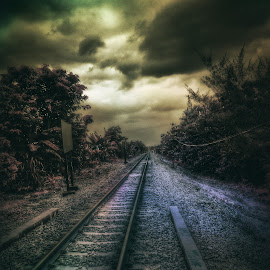 Spoor by Shevenk Clv - Instagram & Mobile Android ( railroad )