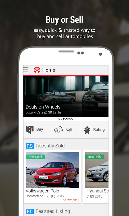 Droom: Used & New Cars & Bikes Screenshot 0
