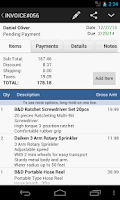 Screenshot of MobileBiz Pro - Invoice App