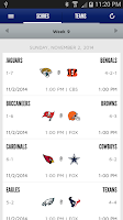 Screenshot of New York Giants Mobile