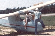 Geoff's early glider flights