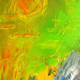 Abstract 1 by Nguyen Linh - Painting All Painting