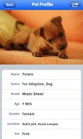 Screenshot of PetFinder.my