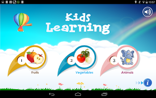 Screenshot of Kids Fruits Vegetables Animals