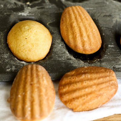 Lemon-Glazed Madeleines