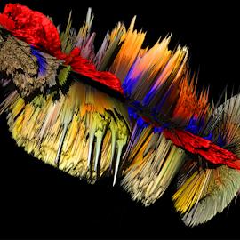 multicolor abstract by LADOCKi Elvira - Digital Art Abstract ( color )