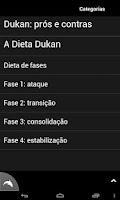 Screenshot of Dukan Dieta