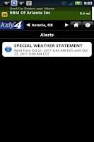 Screenshot of KXLYWeather