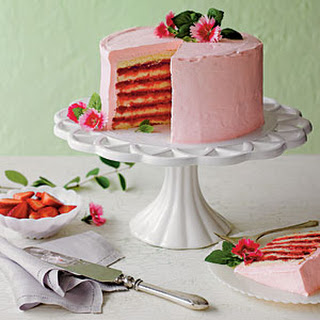 Strawberries and Cream Cake