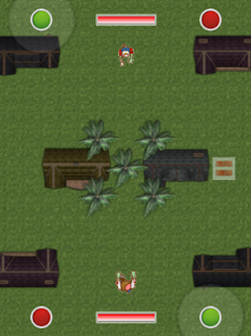 Zombie War For Two Players - screenshot