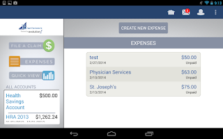 Screenshot of JFAFlex Mobile