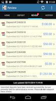 Screenshot of DeposZip Mobile