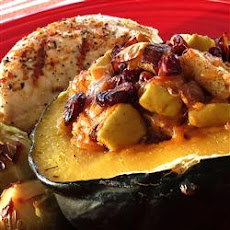 Apple-Stuffed Acorn Squash