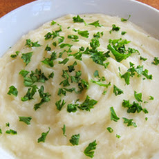 Yukon Gold Mash with Rosemary and Garlic