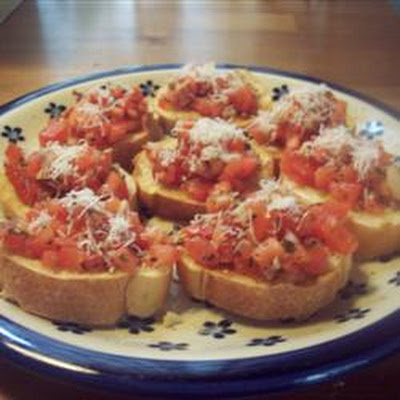 Nikol's Garlic Bruschetta