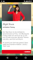 Screenshot of Radio Fritz