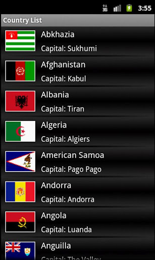 Country Capital Currency List