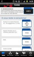 Screenshot of Crédit Mutuel Mobile
