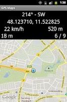 Screenshot of GPS Maps