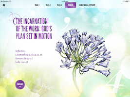 Screenshot of Lectio Divina - Tablet