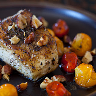 Cod Fish with Hazelnut Browned Butter