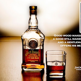 Jack Tabletop shot by Jim Westcott - Typography Captioned Photos ( food&drink, alcohol, beverages, liquor )