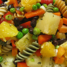 Black Bean Sunshine Pasta Salad