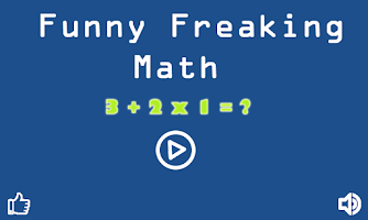 Screenshot of Funny Freaking Math