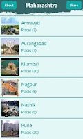 Screenshot of Maharashtra Tourism