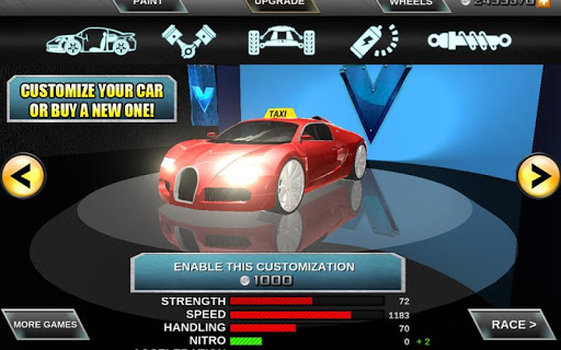 Crazy Driver Taxi Duty 3D - screenshot
