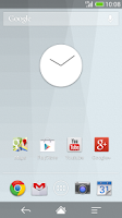 Screenshot of Flat design clock W -MeClock