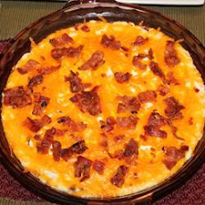 Baked Cheddar Bacon Spread