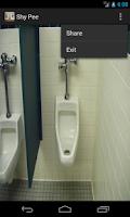 Screenshot of Shy Pee Free