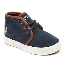 Ralph Lauren Ethan Mid Trainer CANVAS