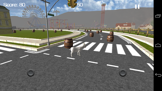 Goat Rush Simulator Pro - screenshot