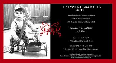 David email invite