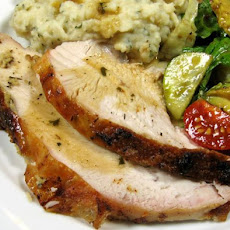 Vera's Roast Turkey Breast With Garlic and Thyme