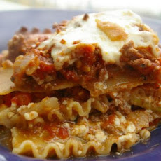 Easy 5 Ingredient Vegetable Lasagna