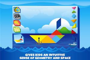 Screenshot of Kids Tangram Puzzles: Ships
