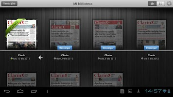 Screenshot of Kiosco Clarín