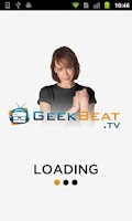 Screenshot of GeekBeat.TV
